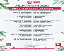 45 UPM Researchers Listed Among World's Top