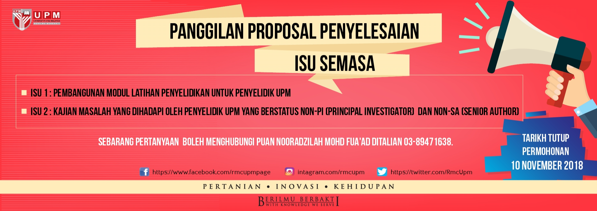 Home Research Management Centre Win Tutup Proposal Call Solutions Current Issues