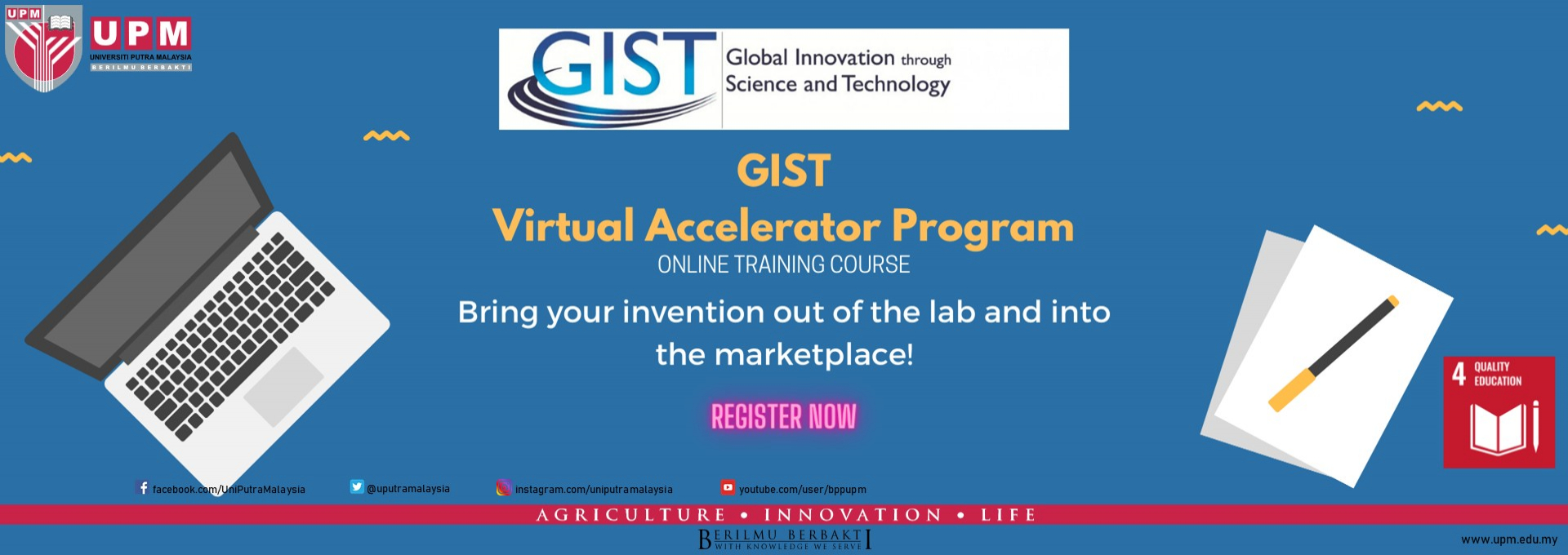 GIST Virtual Accelerator Program